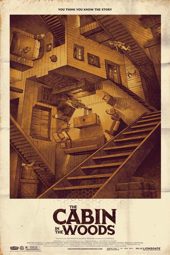 Cabin in the Woods by Phantom City Creative