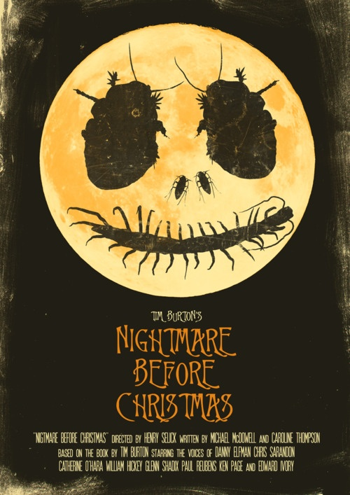 Nightmare Before Christmas by Joel Amat Güell
