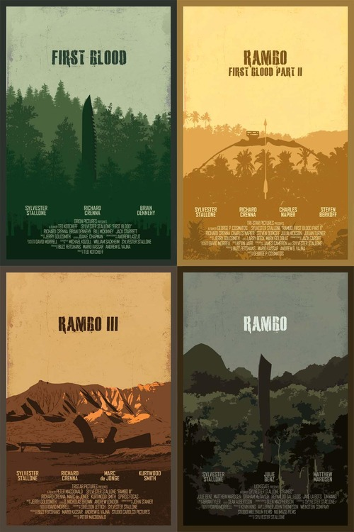 Rambo Series by Edgar Ascensão