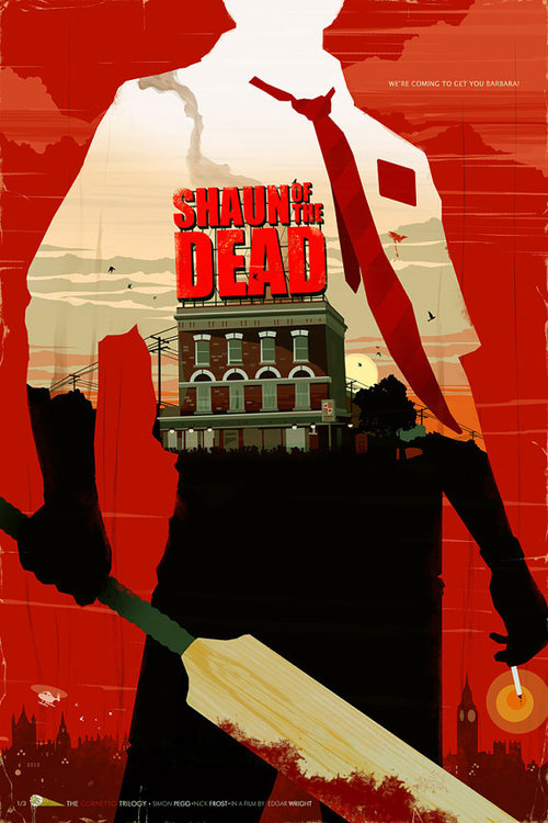 Shaun of the Dead by BigBadRobot