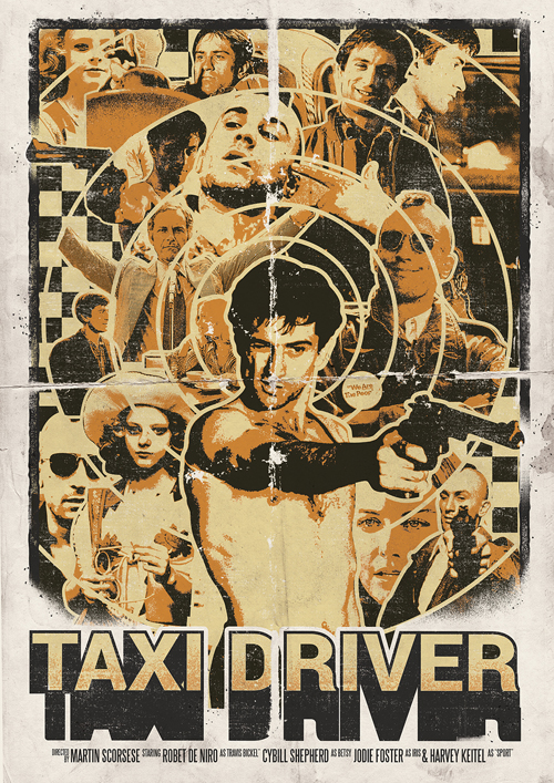 Taxi Driver by Richard Clayton