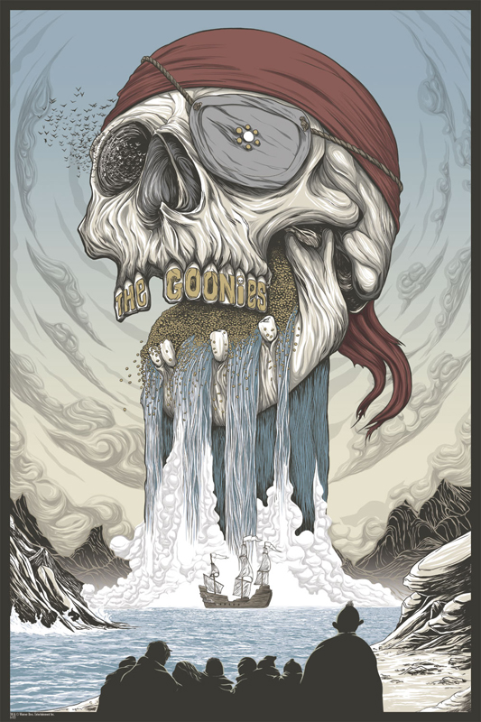 The Goonies by Randy Ortiz