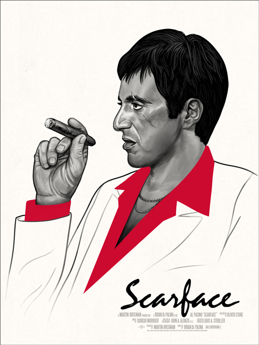 scarface by Mike Mitchell